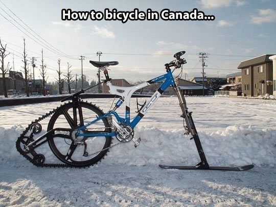 cool-bicycle-snow-winter-ski