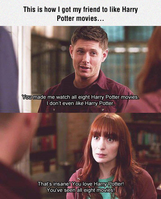 cool Supernatural Harry Potter movies supernatural