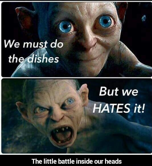 doing-dishes-smeagol