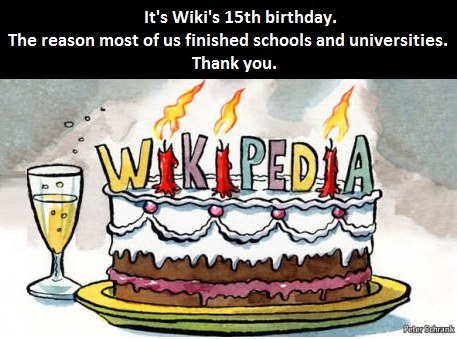 Happy Birthday, Wiki