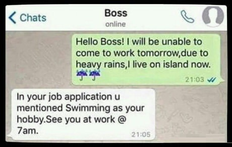 boss-chat-raining-swim