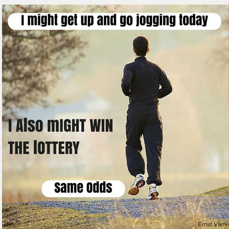 jogging-lottery-odds