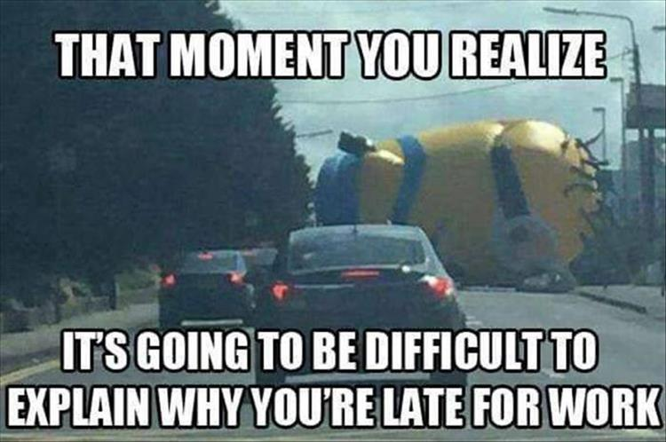 Minion In The Road