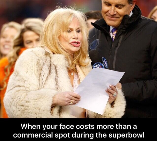 Meanwhile at the Superbowl 2016