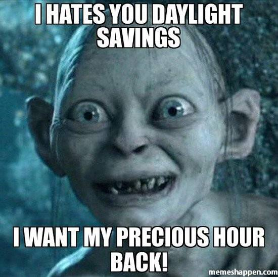 daylight-saving-day-gollum