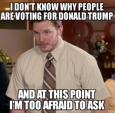 people-viting-donald-trump