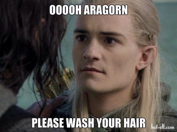aragorn-wash-hair-legolas