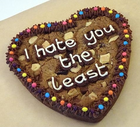 Messed Up Cake Messages