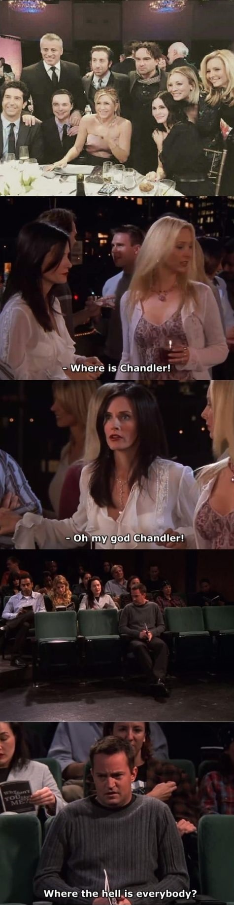 Where's Chandler?