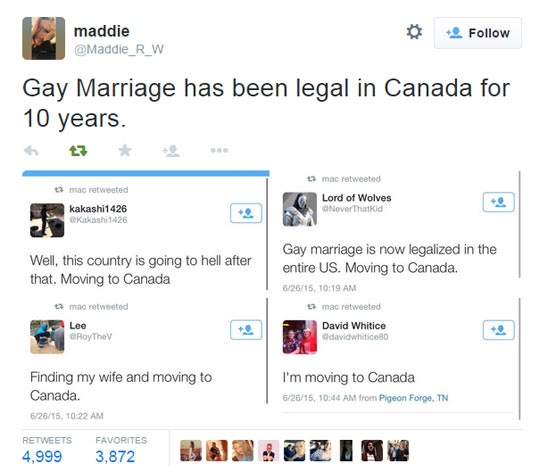 from Dwayne gay marriage in canada legal