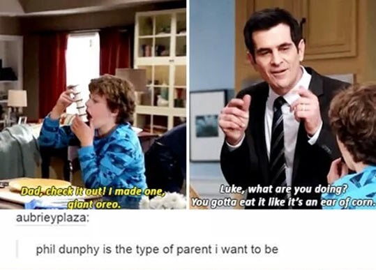 funny-Phil-Dunphy-parent-Oreo