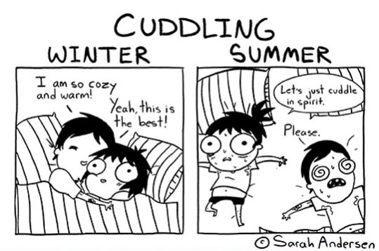funny-cuddling-comic-winter-summer