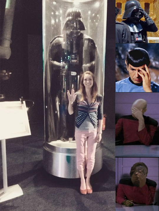 funny-girl-Darth-Vader-museum-Spock-hand