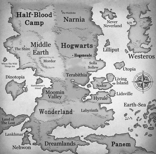 cool-map-Narnia-Hogwarts