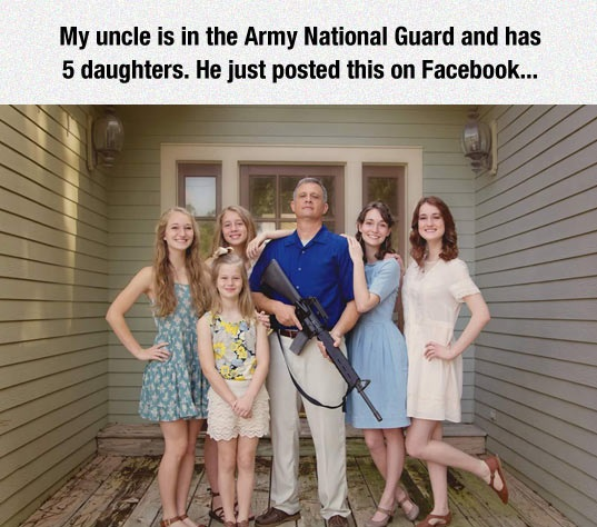 funny-Army-guard-weapon-daughters