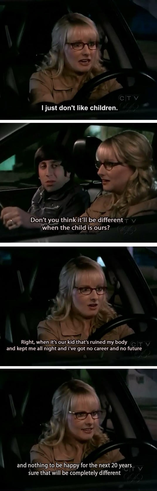 funny-Big-Bang-Theory-Howard-Bernadette-kids