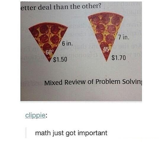math-pizza-important