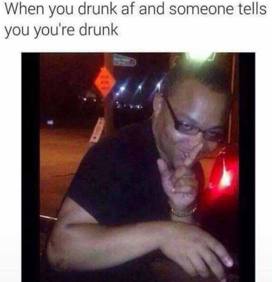 how to tell someone not to get drunk
