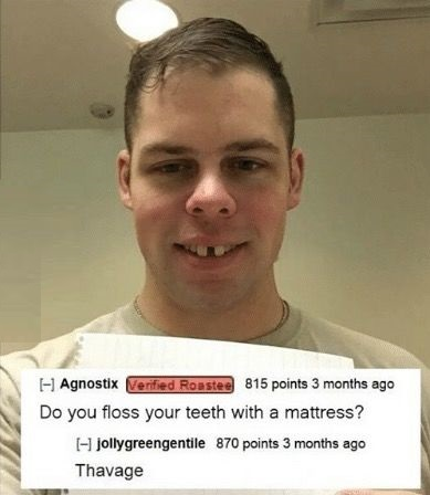 floss-teeth-mattress-comment