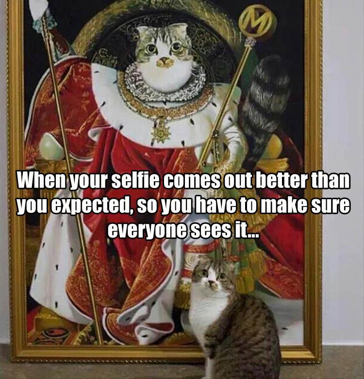 selfie-cat-painting