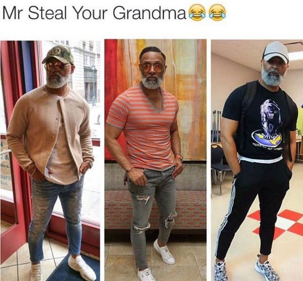 Watch your grandma