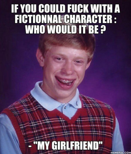 Forever alone bad luck Brian