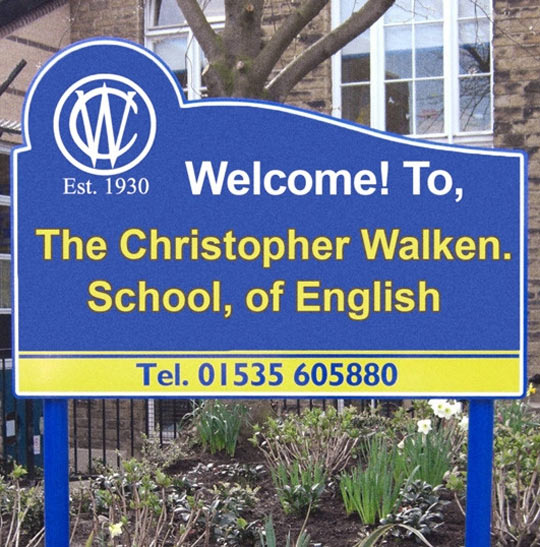 cool-sign-Christopher-Walken-School-English