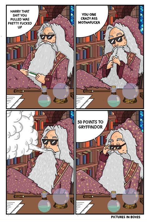 gryffindor-comics-chill-harry-potter