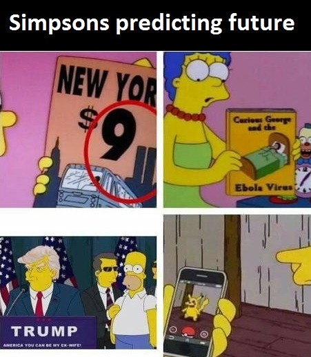 Simpsons are up to something