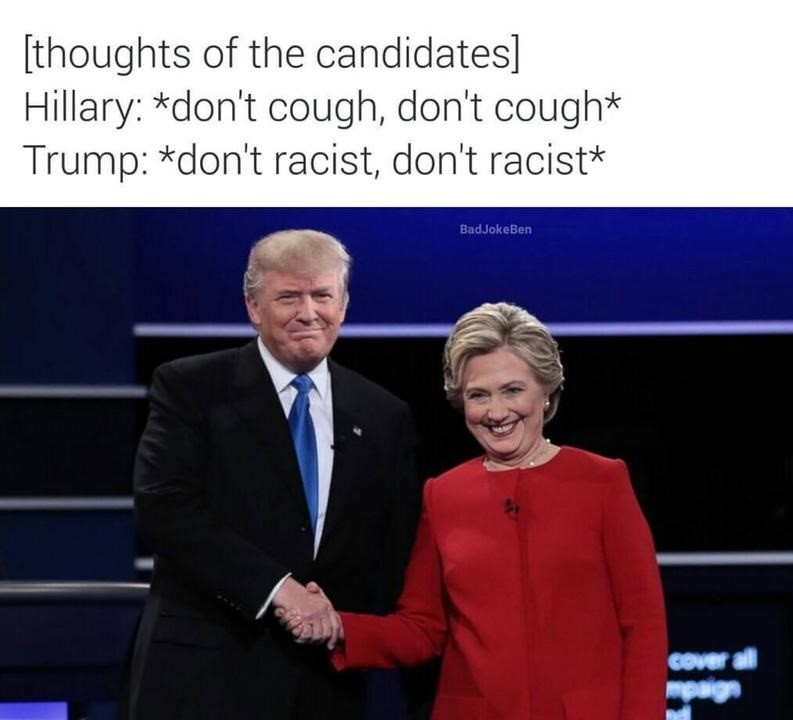 trump-clinton-debate-cough-racist