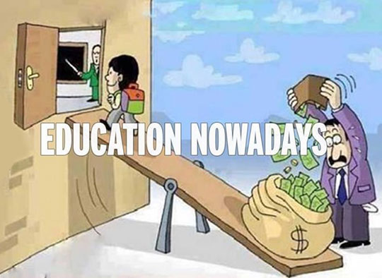 Truth about modern education