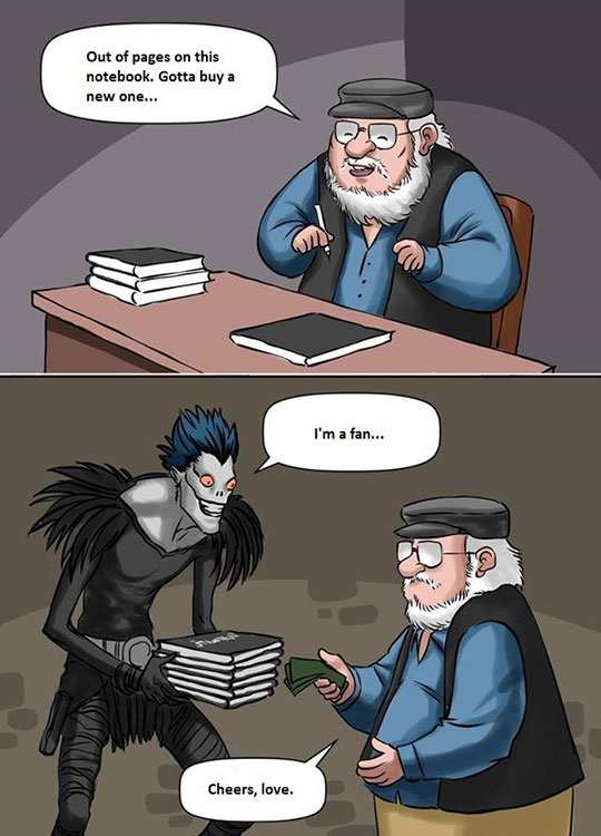 cool-comic-death-note-george-martin