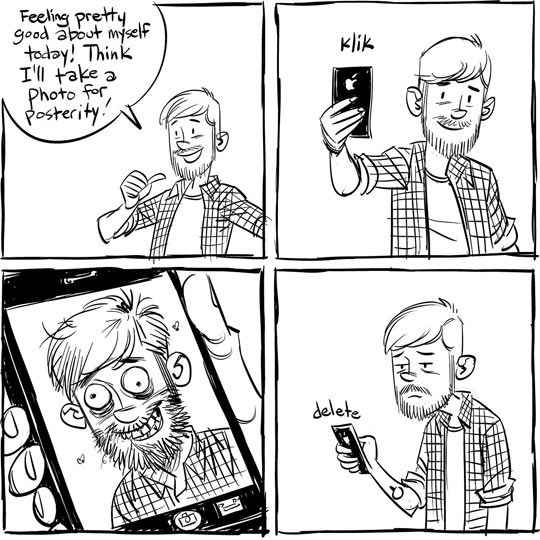 cool-guy-selfie-ugly-comic