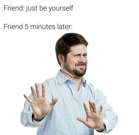 friend-be-yourself