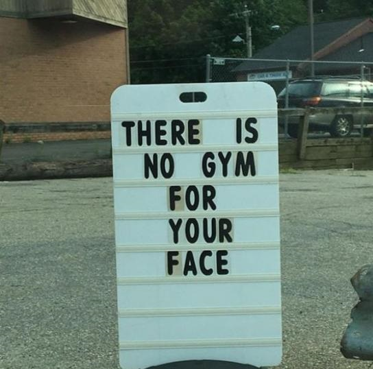 sign-gym-face-evil