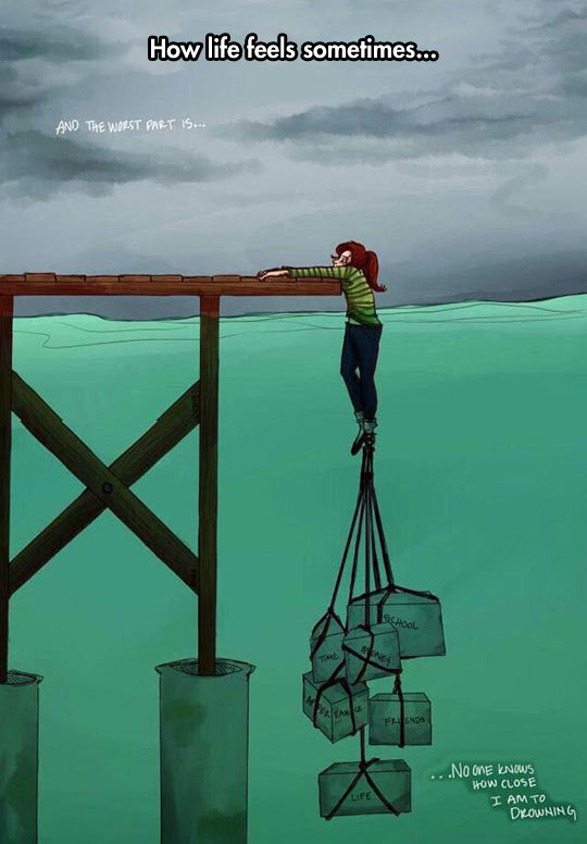 cool-cartoon-drowning-woman-burden