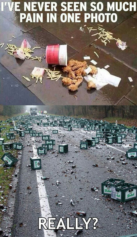 cool-food-beer-spilled-truck