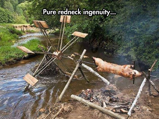 cool-pig-cooking-fire-river-mill