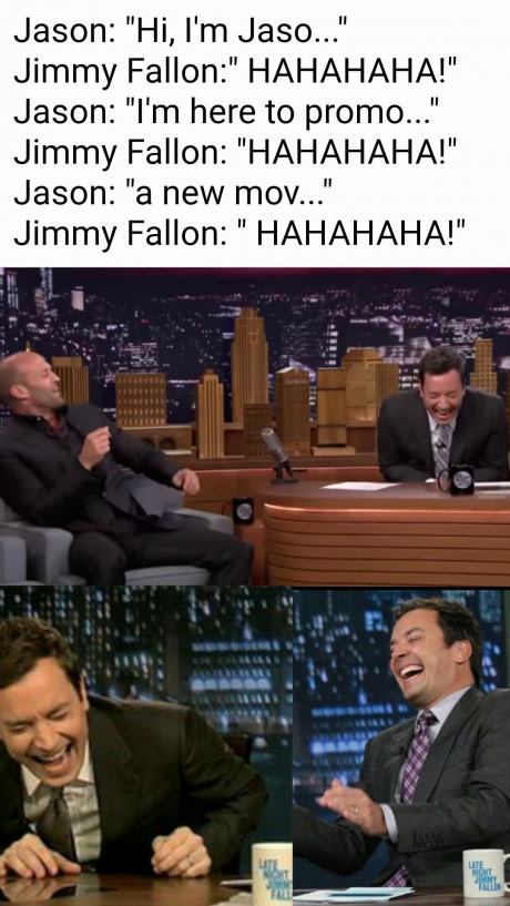 Jimmy Fallon be like…