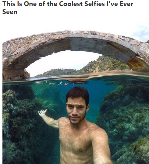 selfie-underwater-beautiful
