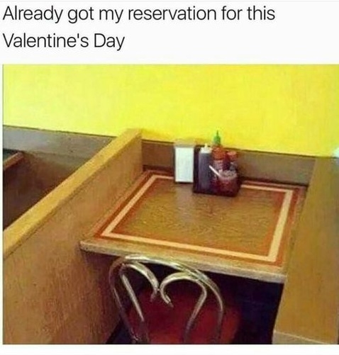 table-lonely-valentines-day