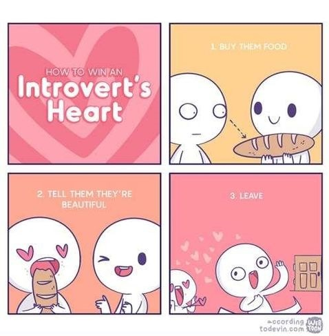 Way to introvert's heart