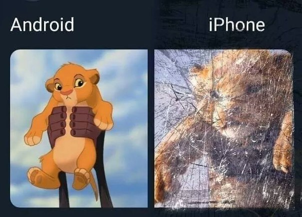 Eternal Conformation iPhone vs Android